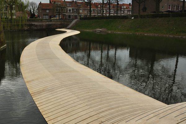 Floating bridge Bergen op Zoom